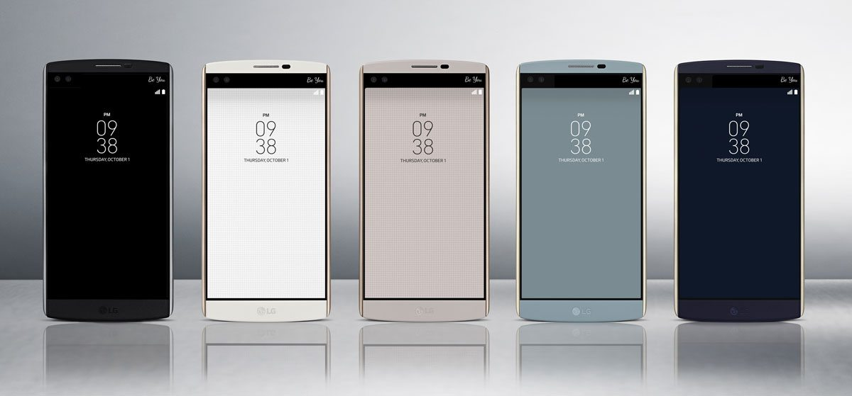 lg v10 announced, specs, colours, image