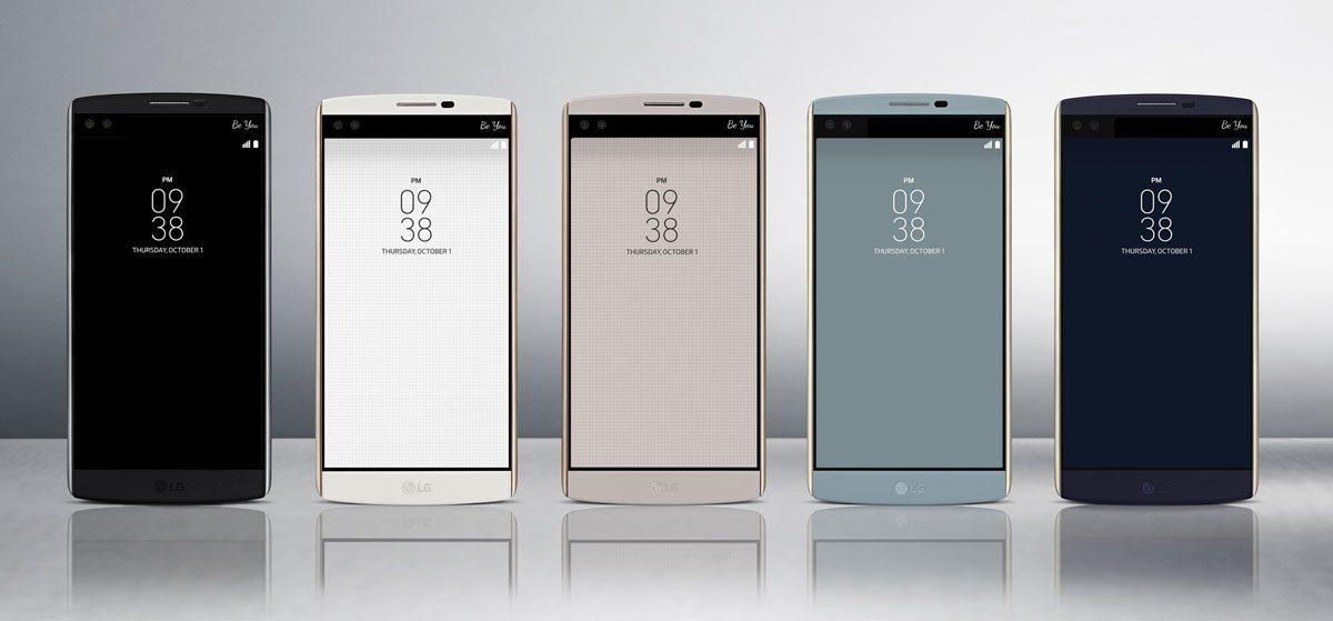 lg v10 announced, specs, colours, image