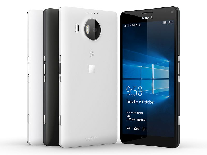 Microsoft, Lumia 950, Lumia 950 XL, Launch in India, Price in India