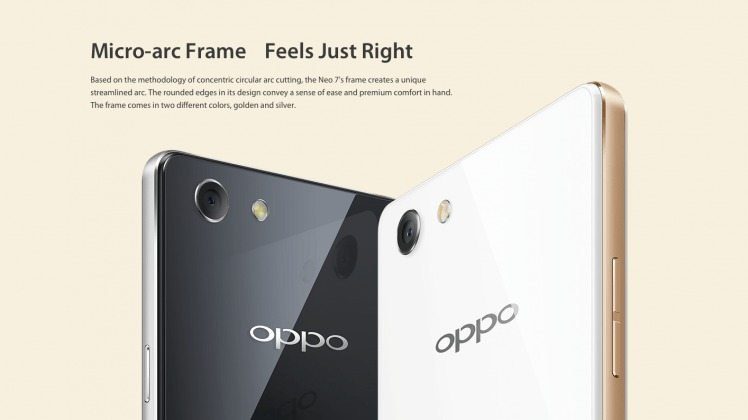 oppo neo 7 black and white