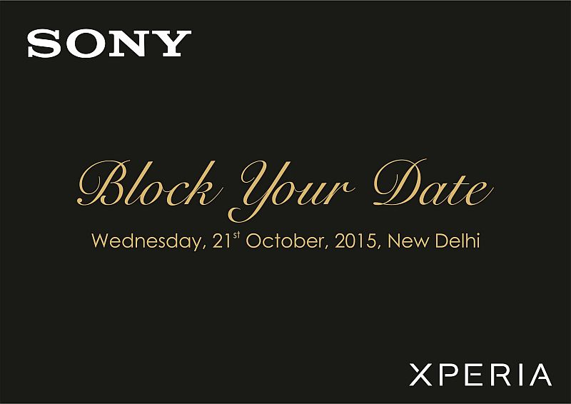 sony xperia z5 launch event in india, price