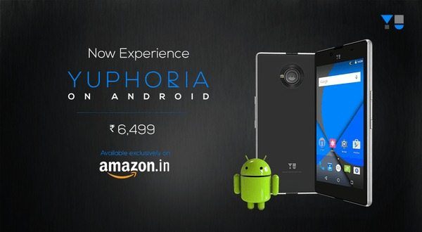yu yuphoria price cut, stock android lollipop