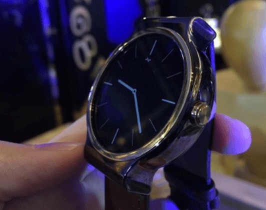 zte axon watch, image, launch
