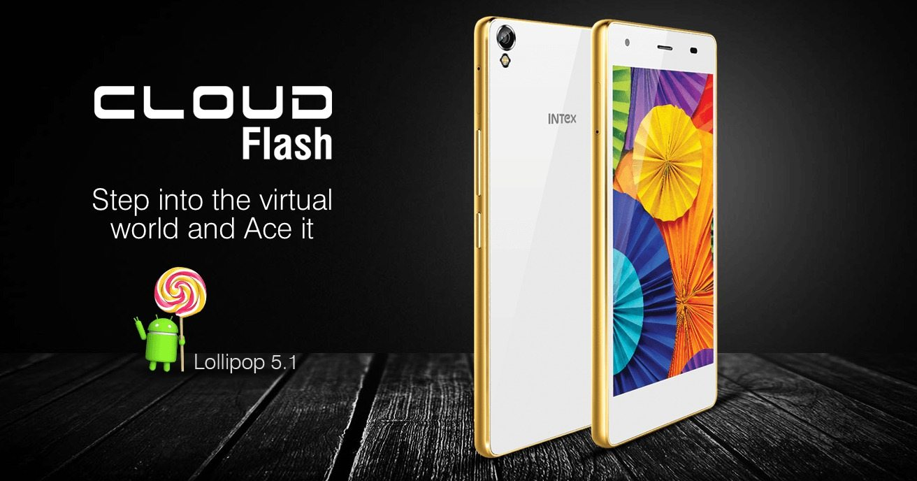 intex cloud flash launched india