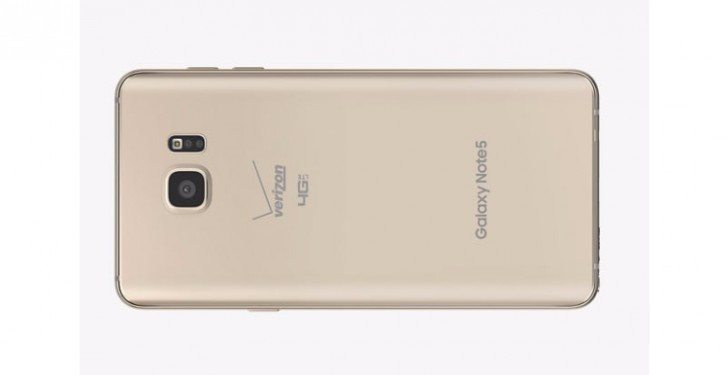 Note5 Gold