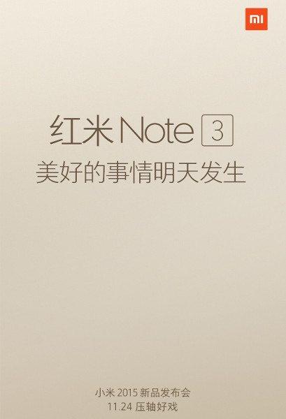 XiaomiNote3