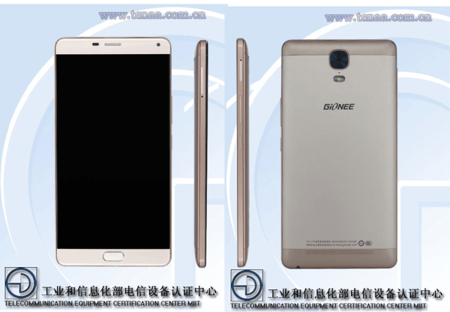 Gionee GN8001 Spotted on TENAA, Carries 6