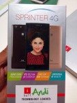 iBall Andi Sprinter 4G launch india