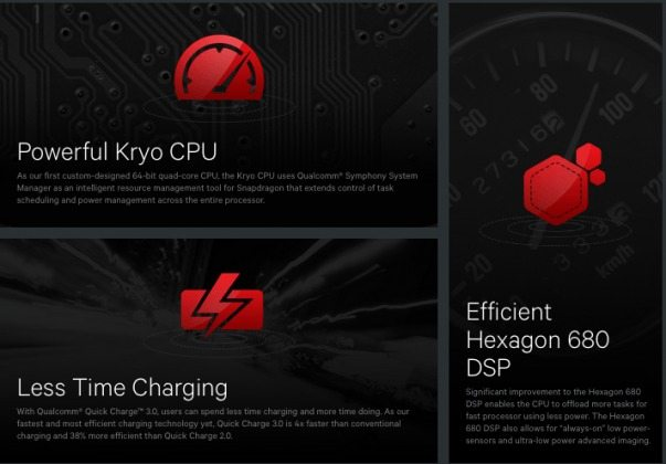 snapdragon 820 chipset features