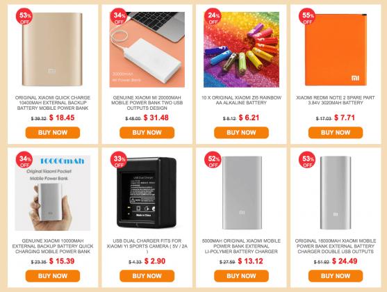 xiaomi powerbank sales