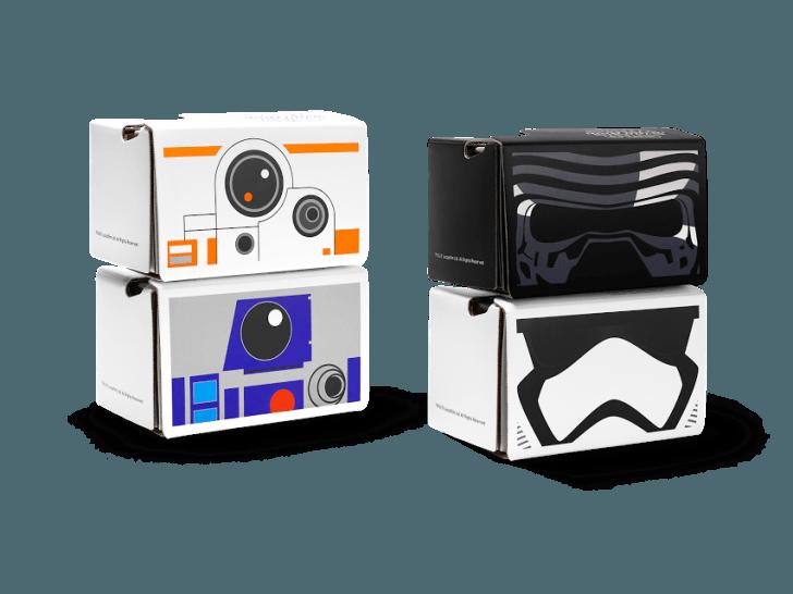 star wars cardboard viewers