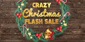 crazy christmas flash sale gearbest, gearbest