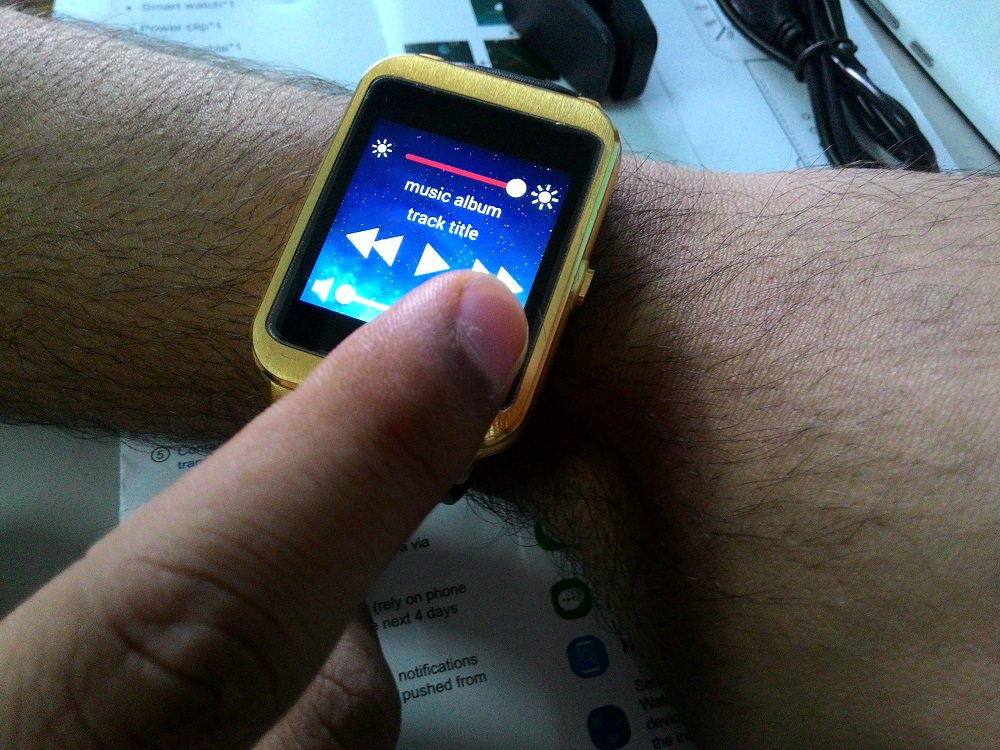 i95 Android Smartwatch touch display