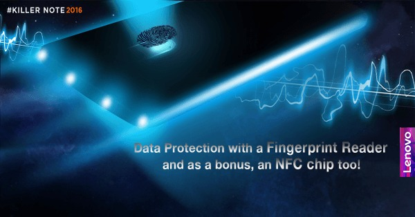 lenovo k4 note fingerprint scanner