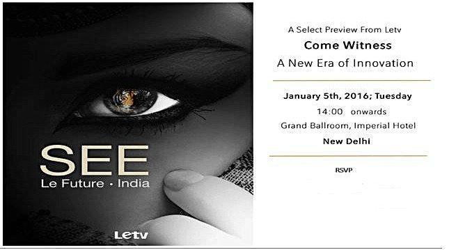 letv india launch
