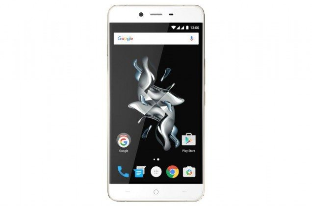oneplus x champagne gold