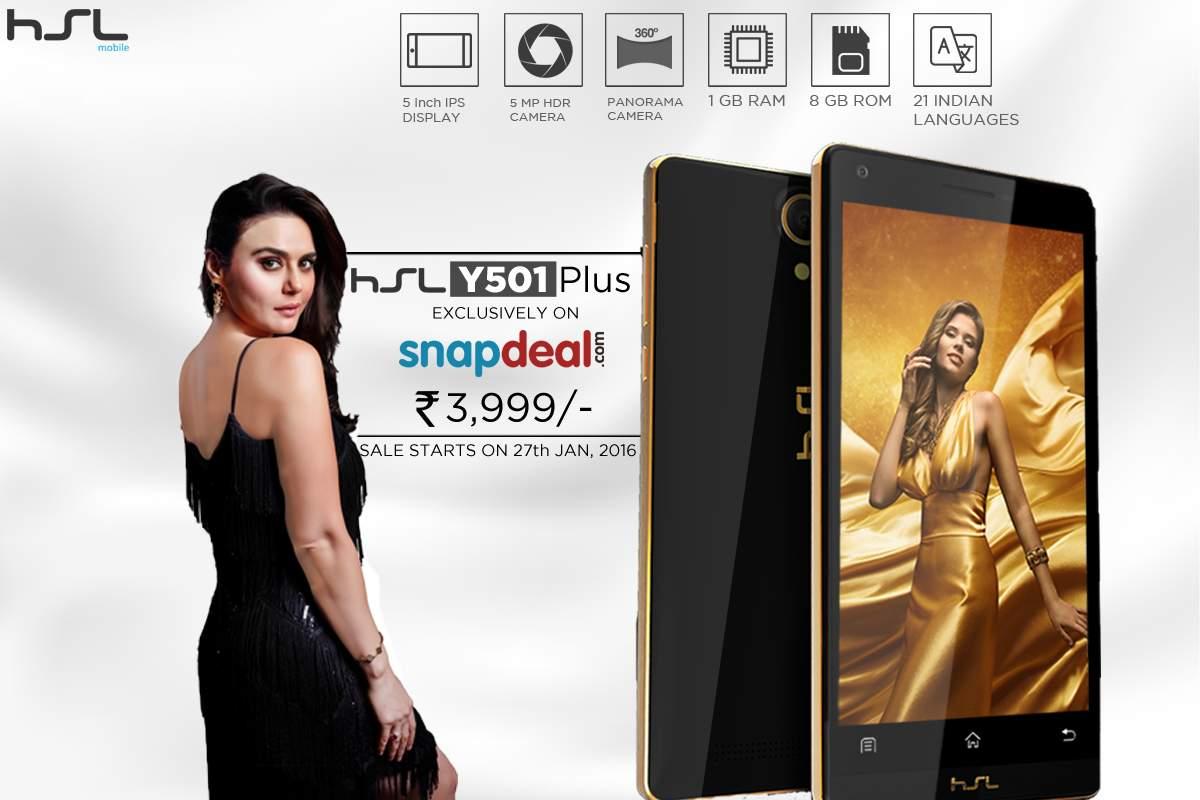 hsl y501 plus smartphone