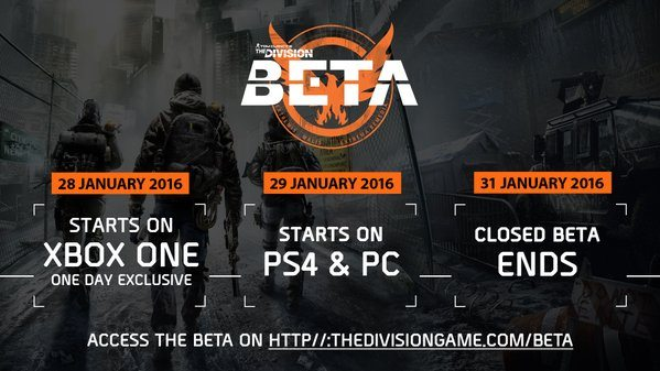 The Division' Beta Released, But With Problems