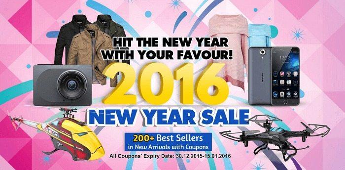 banggod new year sale