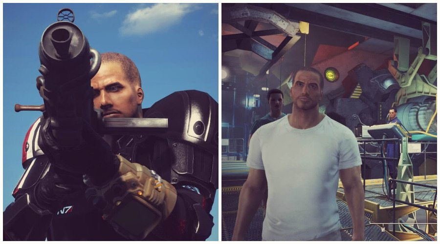Fallout 4 Mods Add Mass Effect Armor and Shepard Lookalike