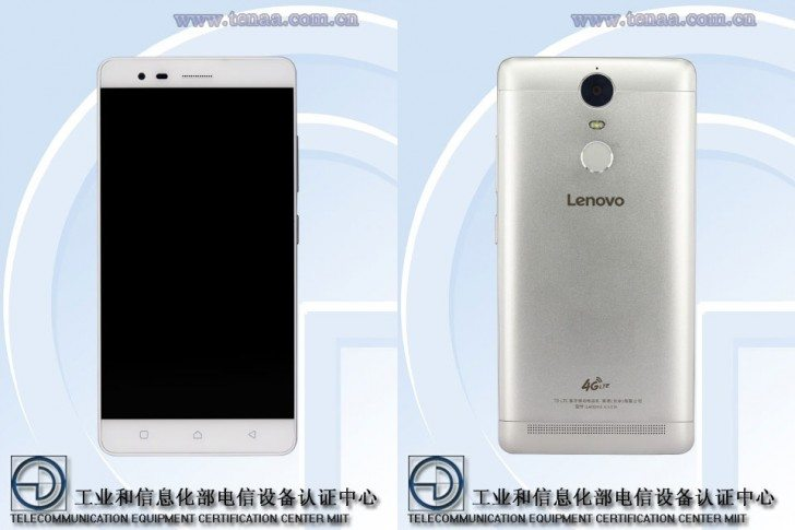 lenovo k5 note front and back