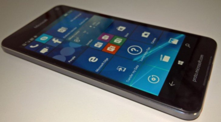 microsoft lumia 650 leaked real image