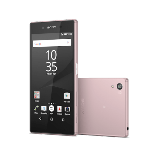 pink xperia z5