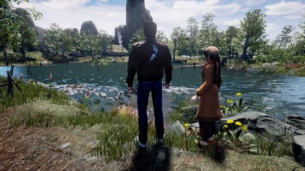 Shenmue III Shown Off in New Screen