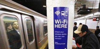 subway new york wifi