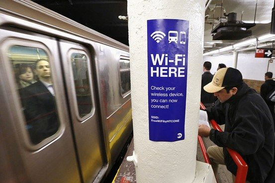 subway new york wifi