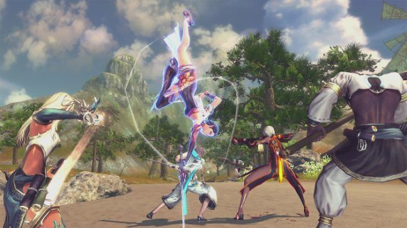 blade and soul combat system