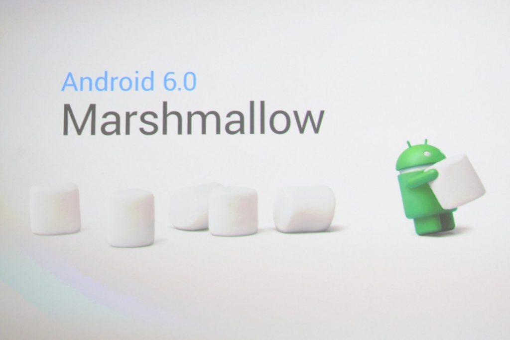 Marshmallow update