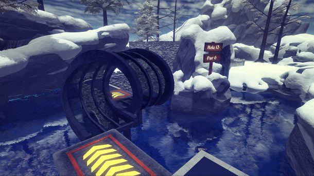 Cloundlands: VR Minigolf