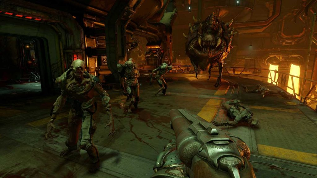 best first-person shooter games Doom-(2)