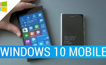 Windows 10 Mobile build