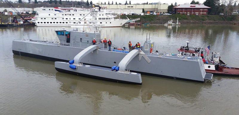 darpa, actuv, submarine hunter