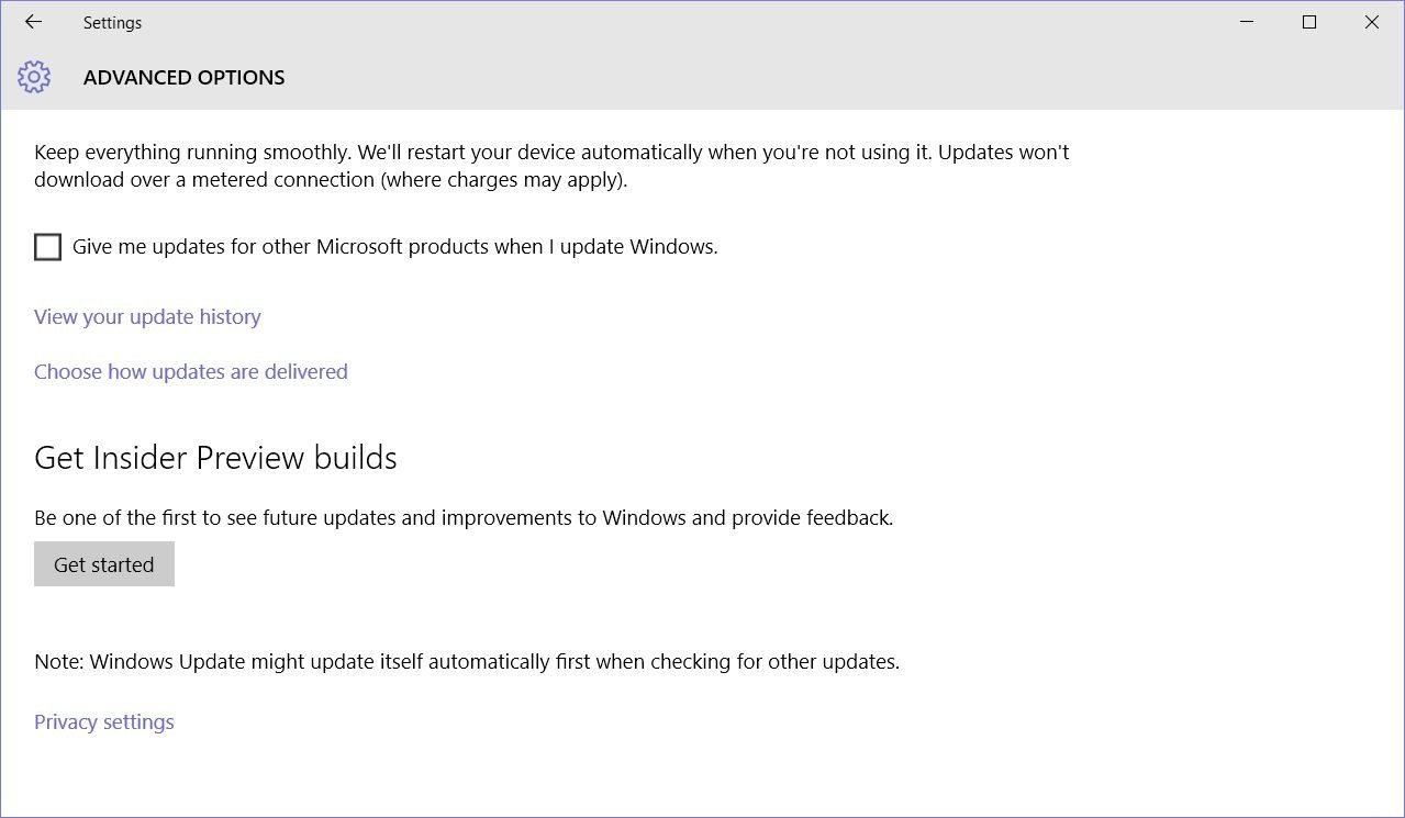 windows 10 stable users to test updates