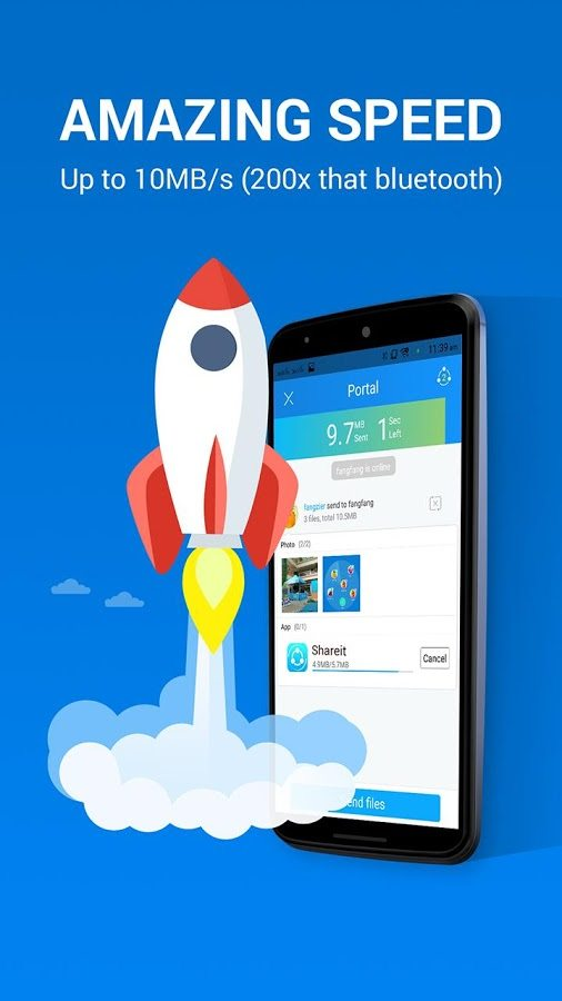 shareit file transfer app download for android