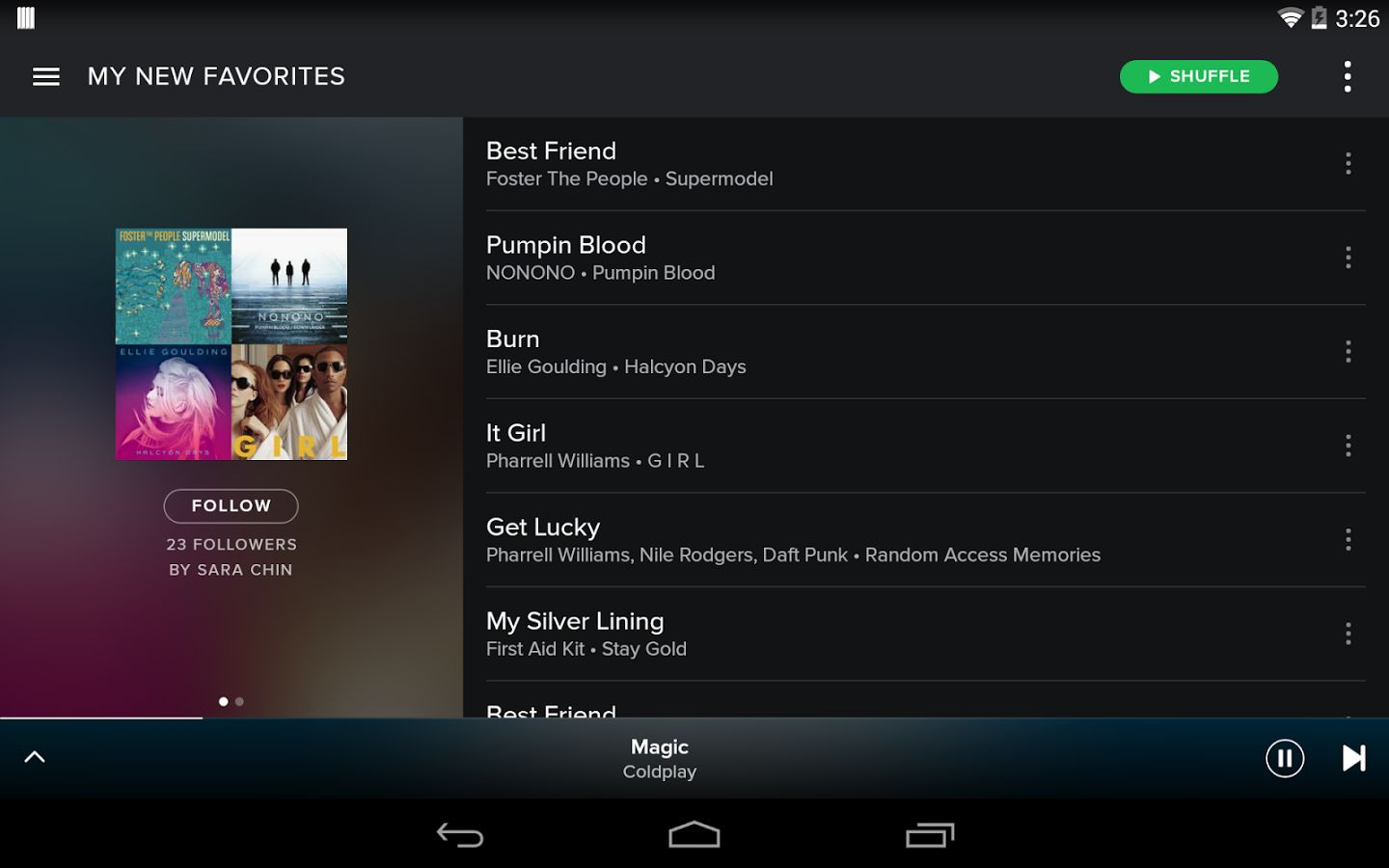 spotify music for android
