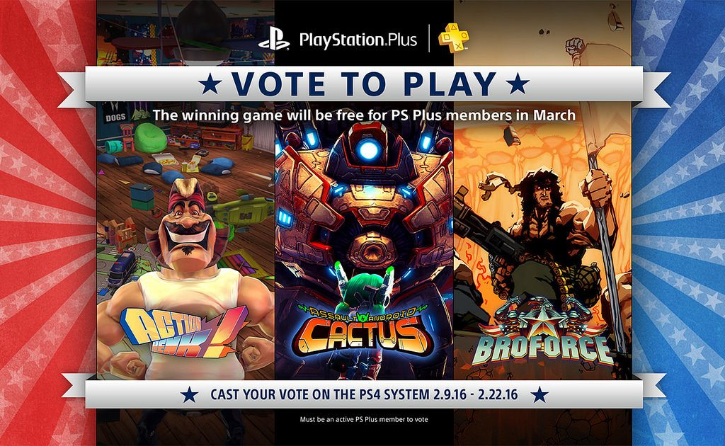 vote to play playstation