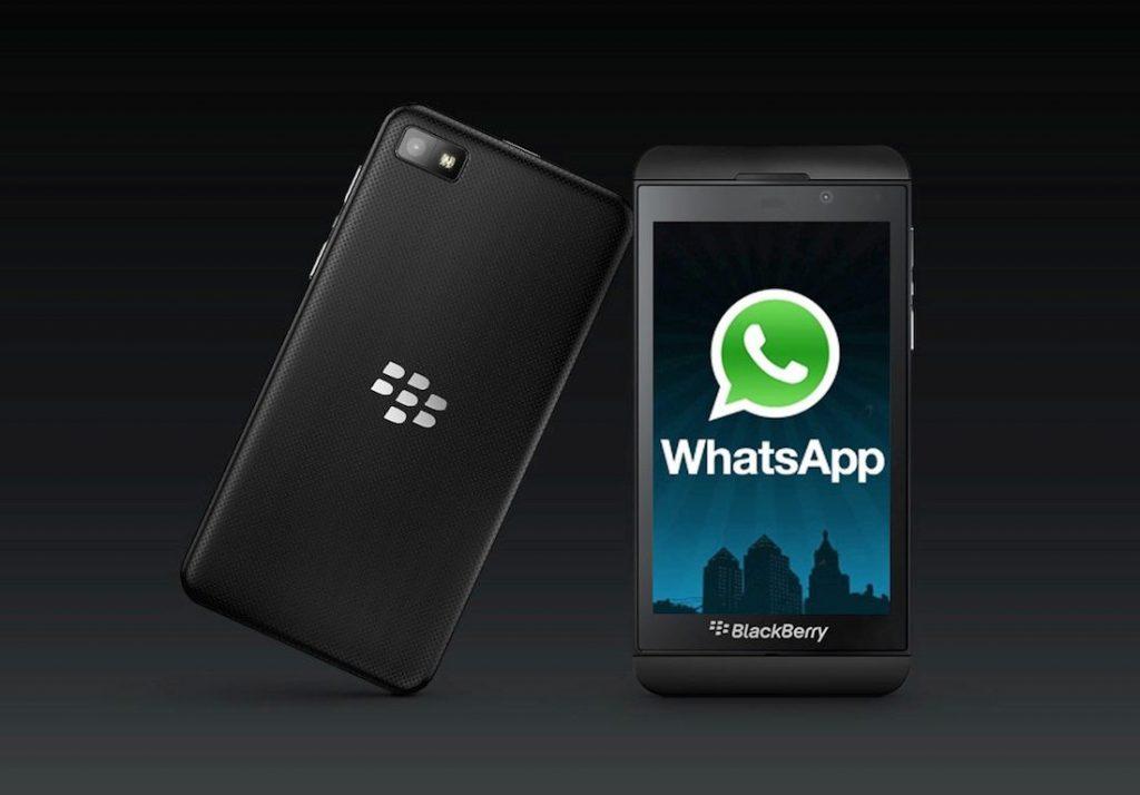 whatsapp for blackberry smartphones