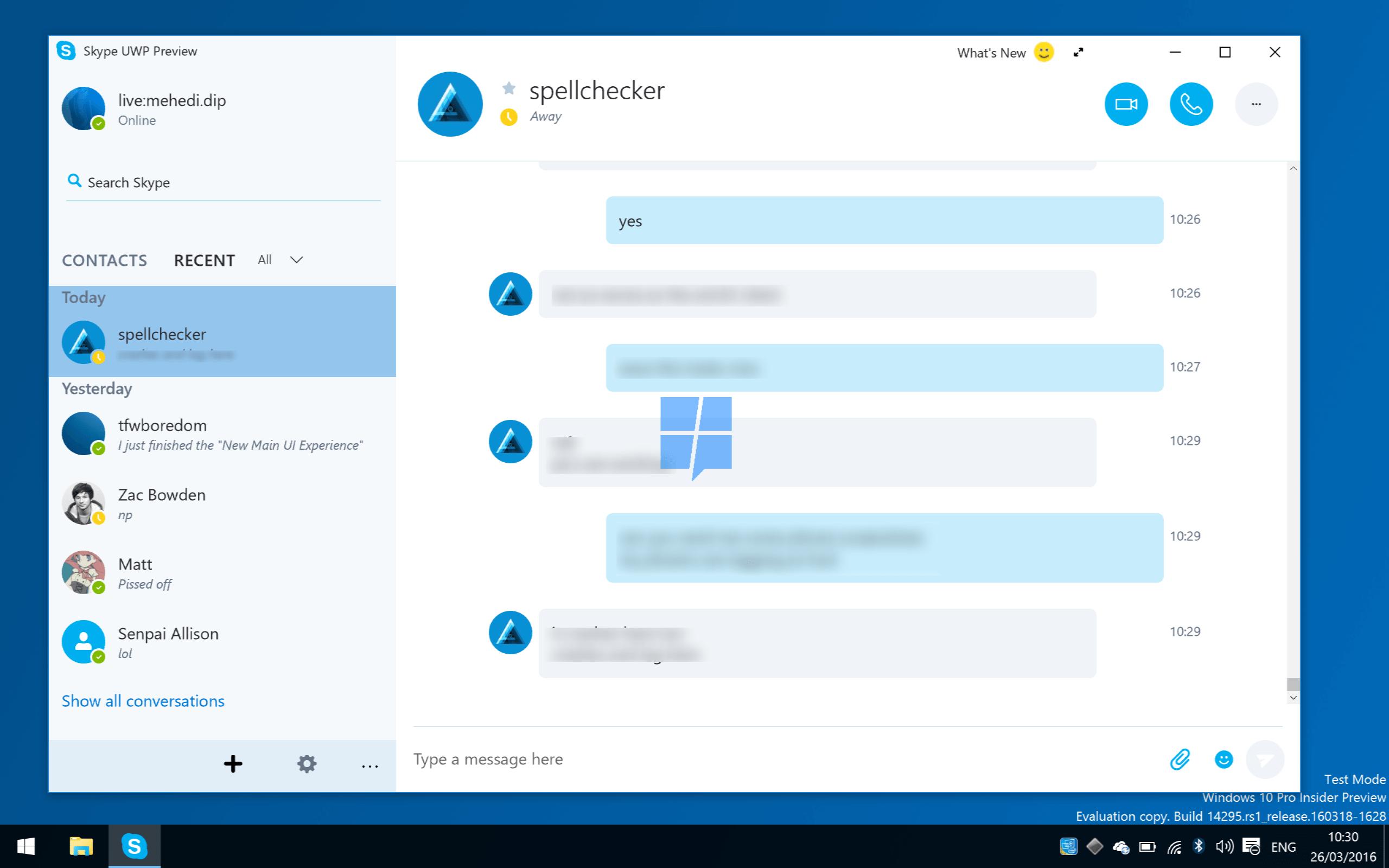 skype beta windows