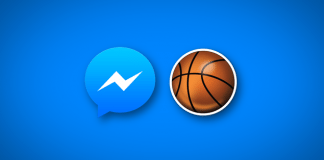 facebook messenger basketball game