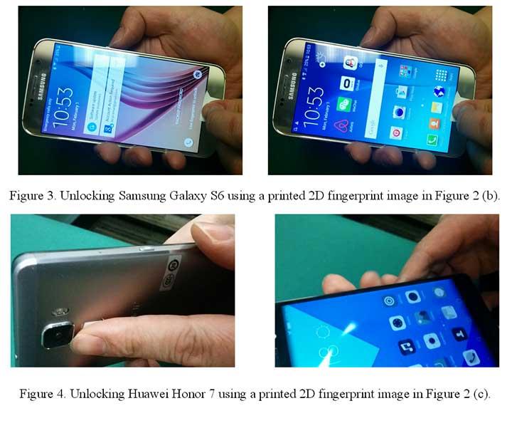 Fingerprint-hack