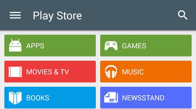 google play store update download