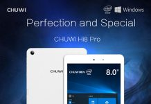 chuwi hi8 pro, windows 10 tablet