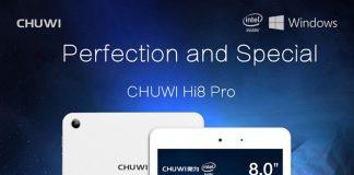 chuwi hi8 pro, windows 10 tablet