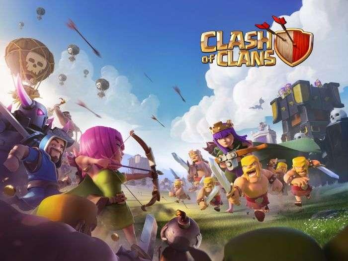 clash of clans offline on ios