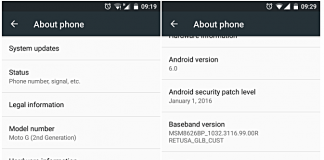 moto g 2nd gen android marshmallow update