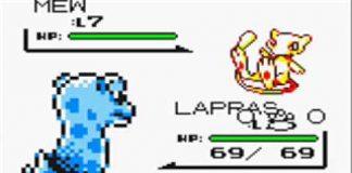 Pokémon Red, Blue, Yellow Mew